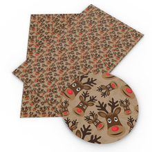 David-Accessories Faux-Synthetic-Leather Wallet Christmas-Printed Bag for Bow-Knot Phone-Cover