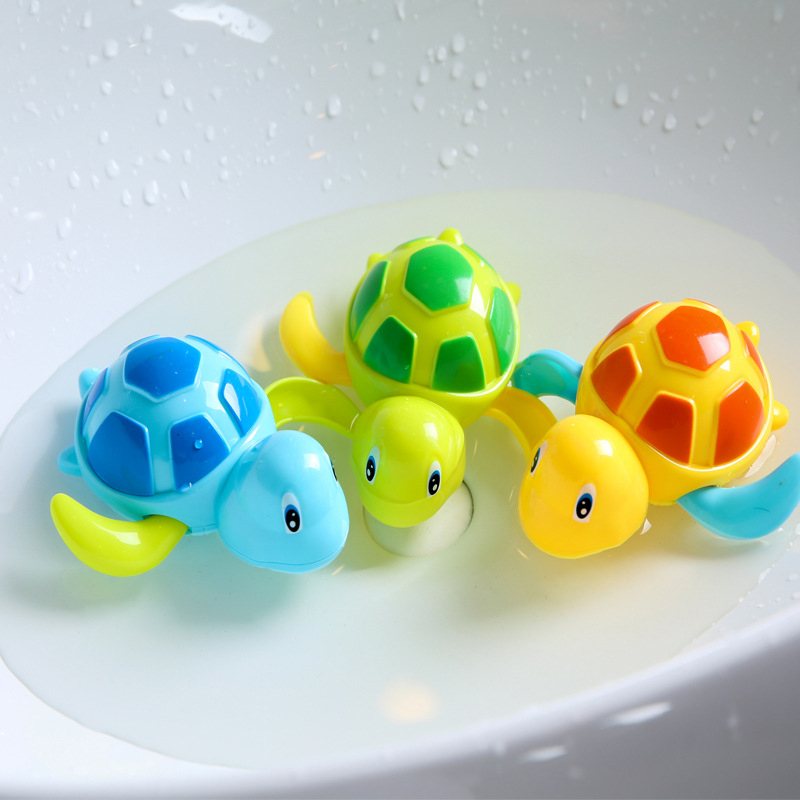 2019 New Water Toys Kids Baby Bath Toddler Boy Educational Toys Animals Turtles Toys Swim Clockwork Bath Toys For Children