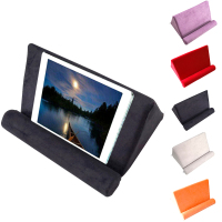 Tablet Stand Pillow Holder Multi angle Flat Pillow Smart Phone Holder Foldable Tablet Computer Reading Stand Ipad Phone Rest Pad|Tablet Stands| |  -