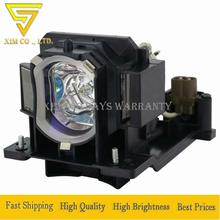 DT01091 Projector Lamp For Hitachi CP-AW100N CP-D10 CP-DW10 ED-AW100N ED-AW110N HCP-Q3 HCP-Q3W CP-DW1 high quality With Housing new original projector lamp with dt01123 for hitachi cp d31n hcp q71