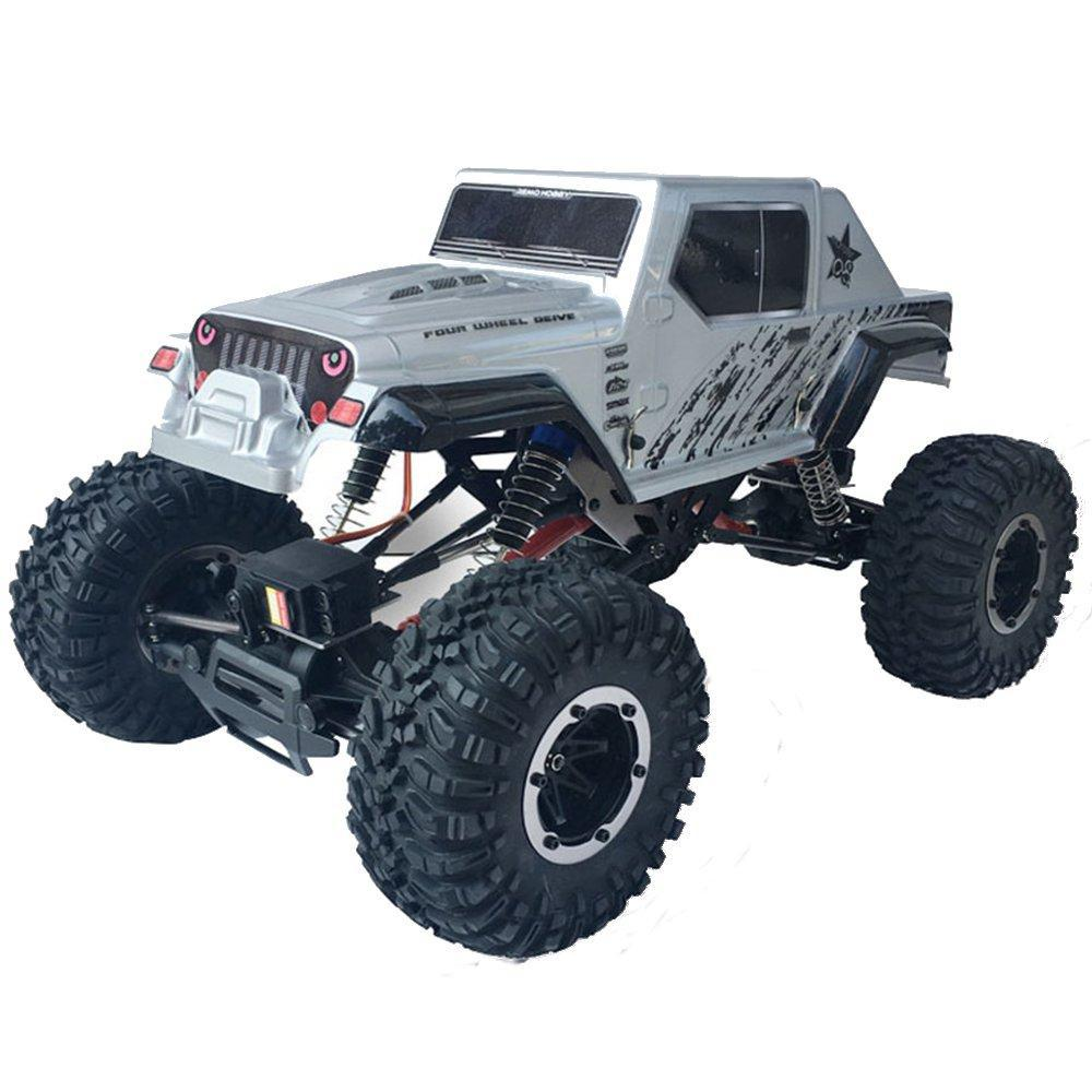 RCtown Remo Hobby 1071-SJ 1/10 2.4G 4WD 550 Brushed Rc Car Off-road Truck Rock Crawler RTR Toy