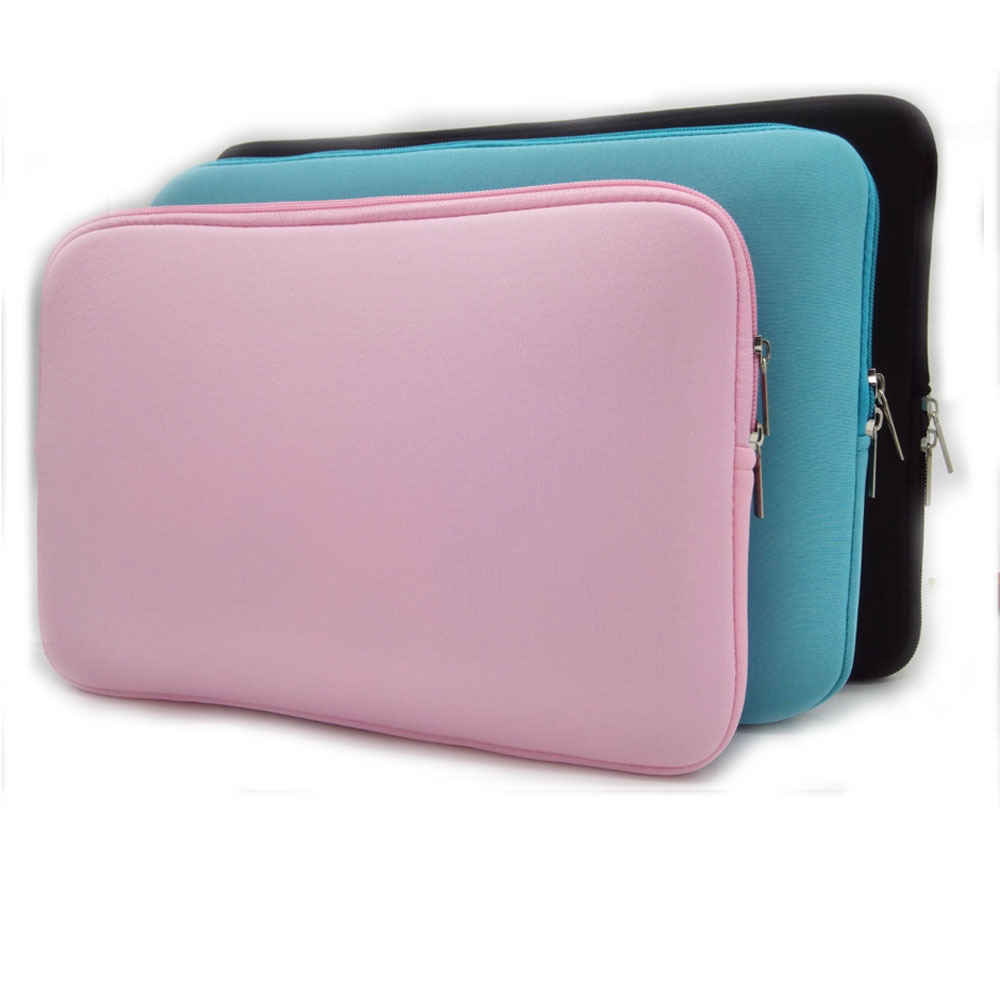 Soft Sleeve Laptop Bag Case For Lenovo Dell HP Asus Apple Macbook Air Pro 11 12 13 14 15 15.6 Inch Ultrabook Notebook Bag 13.3