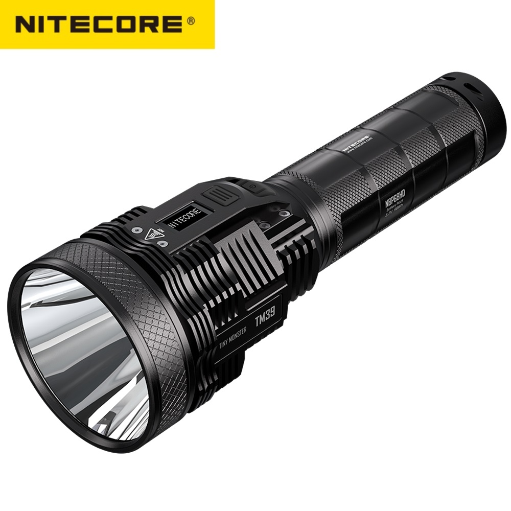 Rechargeable LED Flashlight Battery-Pack LUMINUS GEN2 SBT-90 High-Power Nitecore Tm39