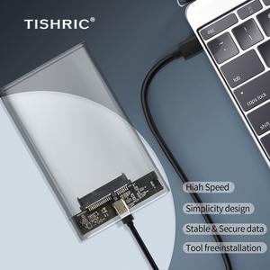 TISHRIC 6GP Hdd чехол Тип C Поддержка 8 ТБ футляр для внешнего жесткого диска чехол Корпус для жесткого диска Usb 3,0 жесткий диск чехол для жесткого диска