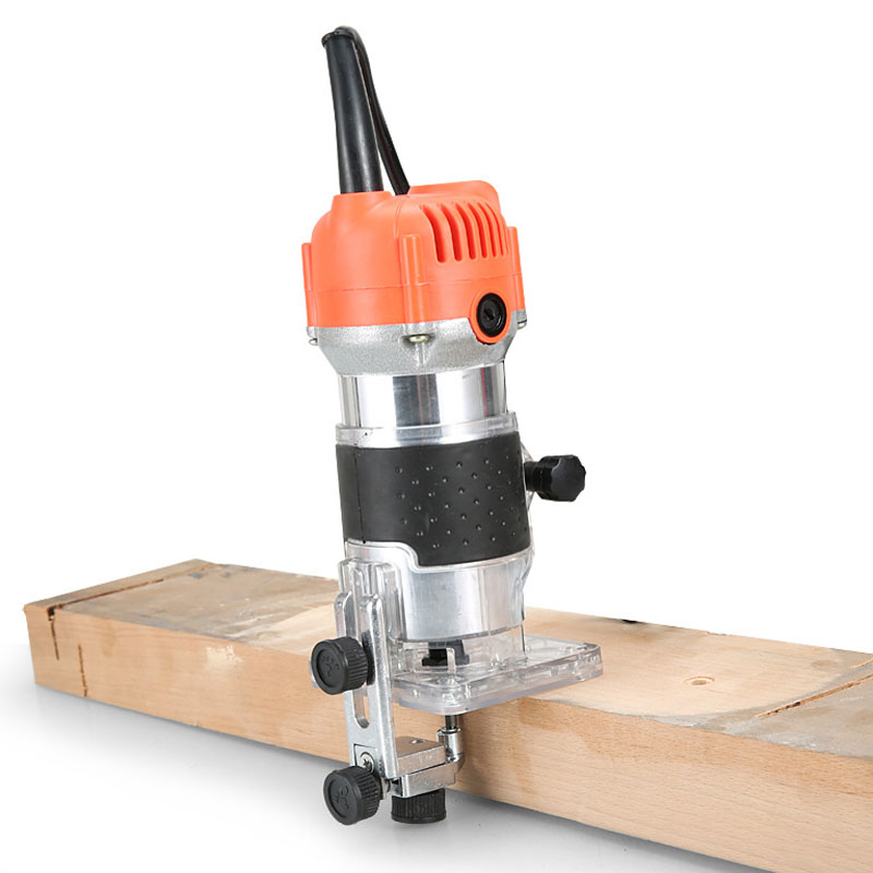 EU US Plug  Woodworking Electric Trimmer Wood Milling Engraving Slotting Trimming Machine Hand Carving Machine Wood Router