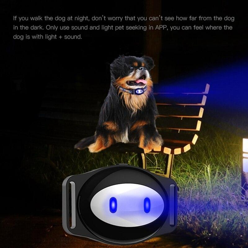 Güvenlik ve Koruma'ten Anti-Kayıp Alarm'de Pet Gps konumlandırma izci su geçirmez yaka D79 title=