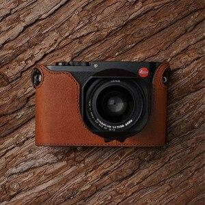 Image 3 - Leica Q Q2 MrStone Nuovo Leica Q Custodia In Pelle LEICA Q2 Cassa Della Macchina Fotografica Senza maniglia metà set typ116