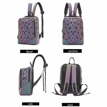 New Luminous Backpacks For Women 2020 set Travel Backpacks Lady Daily backbag Mochilas Female Shoulder Bag Boys Girsl Backpacks