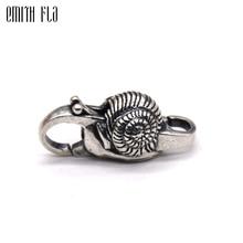Echt 925 Sterling Zilveren Bedels Vintage Slak Kreeft Lock Sluiting Voor Vrouwen Fit Voor Europese Charme Armbanden