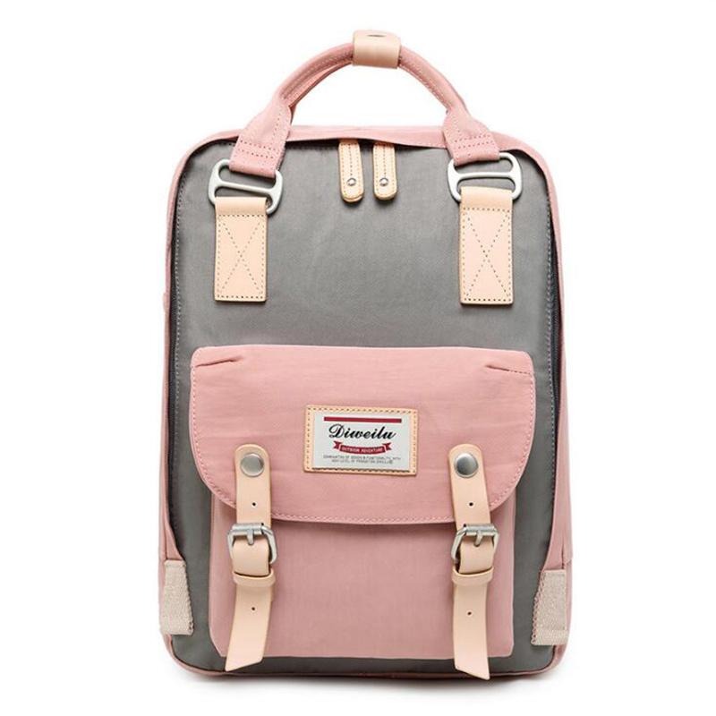 Multifunction Women Backpack Mummy Diaper Bags For Baby Care Fashion Vintage Kanken Backpack Mochilas Teenager Schoolbags image