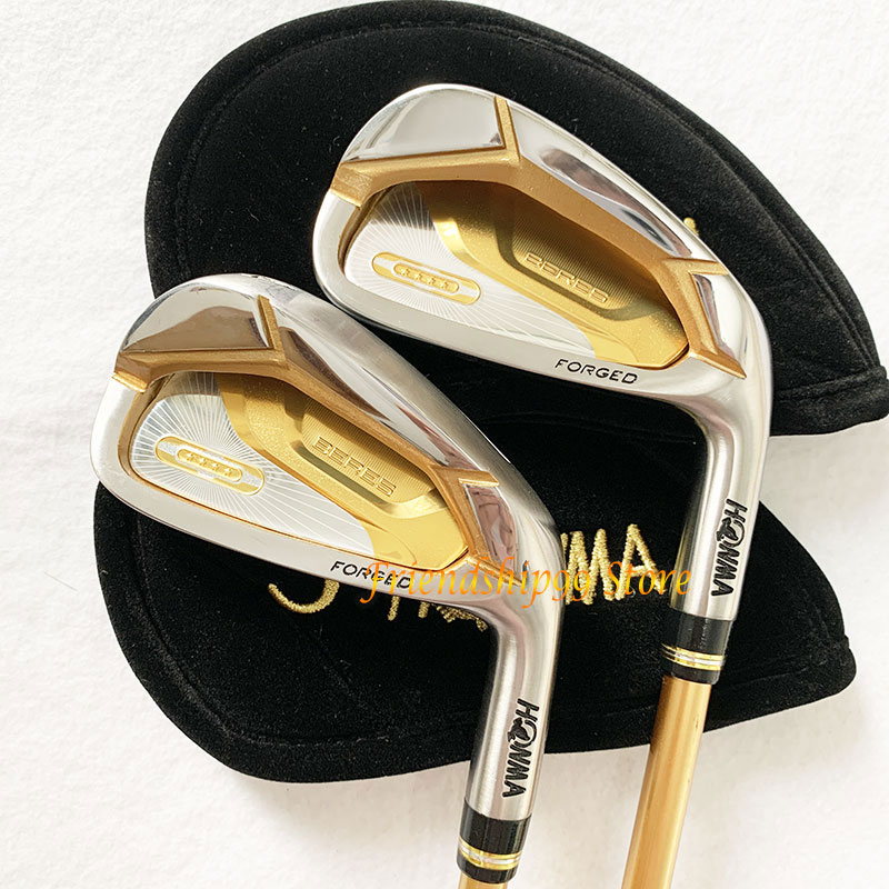 New Golf club HONMA S-07 4 star Golf complete clubs Driver Fairway wood irons Putter bag Graphite Golf Shaft with Headcover 4