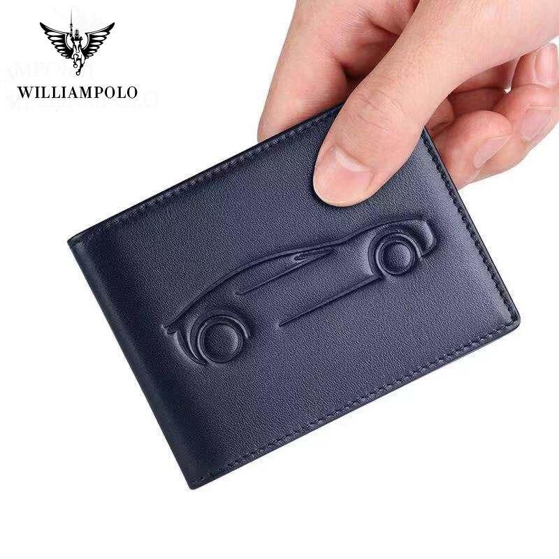 2019 Genuine Leather  Driver License Cover Card Holder Genuine Leather Men Photo Holder Black Brown Blue PL185138