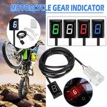 Indicador para montagem direta de motocicleta, indicador de velocidade 1-6 para honda para kawasaki er6n z1000sx ninja300 z1000 z800 z750 z400