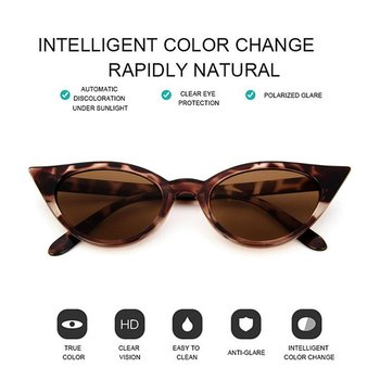 Vintage Cateye Sunglasses Women Sexy Retro Small Cat Eye Sun Glasses Brand Designer Colorful Eyewear For Female image