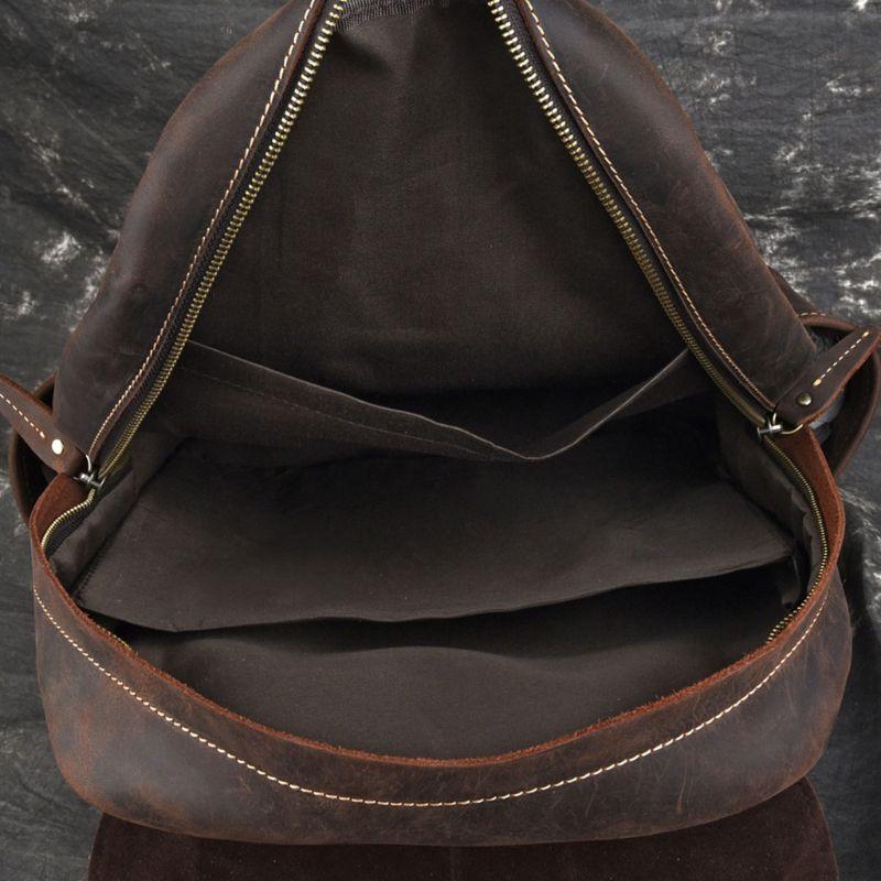FOXER дизайнерские сумки известный бренд женские сумки 2019 новая женская сумка из натуральной кожи Модный женский рюкзак Отдых большая вмести... - 6
