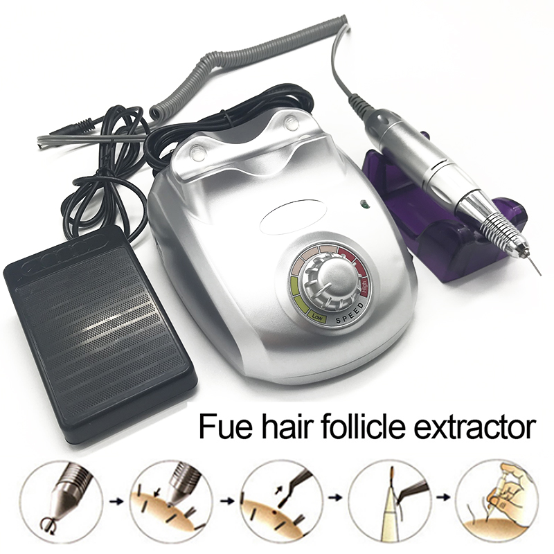 Beauty FUE Machine Device For Hair Transplant Hair Follicle Extraction Planting Hair /eyebrows/beard Equipment