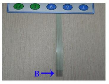 Оригинальный подлинный ER-691 ER-691CT бытовая машина кнопка доска Главная кнопка B