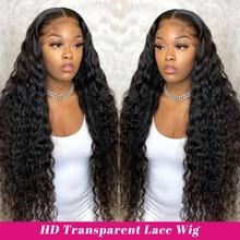 Недорогие вьющиеся парики на сетке спереди, прозрачные парики на сетке для женщин, парики из человеческих волос, Alipop, бразильские кудрявые п...