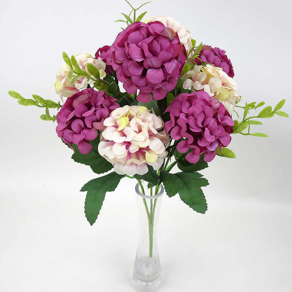 DIY Künstliche Blumen Kleine Rose Hortensien sonnenblumen Braut Bouquet Xmas Party Decor Faux Gefälschte Blumen Hochzeit Hause Dekoration