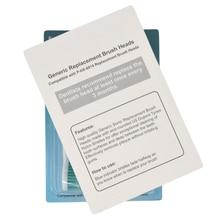 HX6014 Sonic spazzolino elettrico testine di ricambio P HX 6014 igiene orale cura pulita 400 pz/lotto