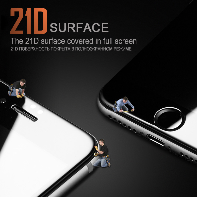 XSDTS 21D Μπροστινό και πίσω γυαλί για iPhone - Ανταλλακτικά και αξεσουάρ κινητών τηλεφώνων - Φωτογραφία 4