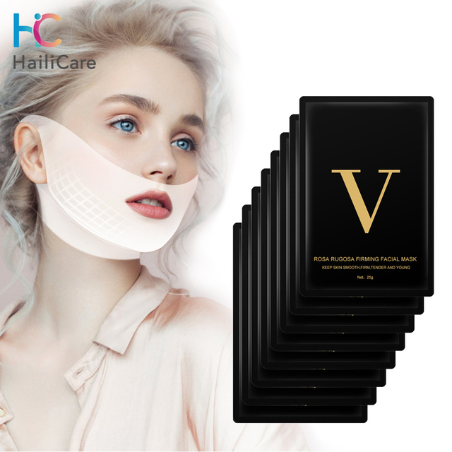 Face Firming Mask Miracle V Shape Lifting Facial Mask Slimming Eliminate Edema Lifting Firming Thin Masseter Face Care Tool