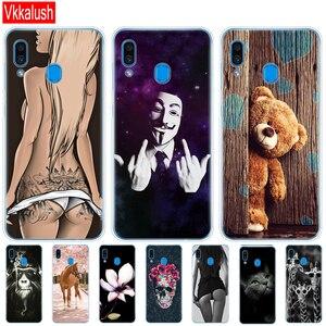 Image 2 - Case For Samsung Galaxy A20 Case A20E Silicon Tpu Back Cover For Samsung A20 A 20 2019 A205F A20E A202F Cover Soft Fundas Bumper