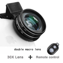 37MM 15X Makro Objektiv 4K HD Professionelle Fotografie Telefon Kamera Objektiv für Wimpern Diamant Schmuck 30X Makro Objektiv für Smartphone