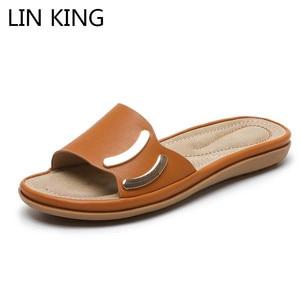 LIN KING Fashion Summer Shoes