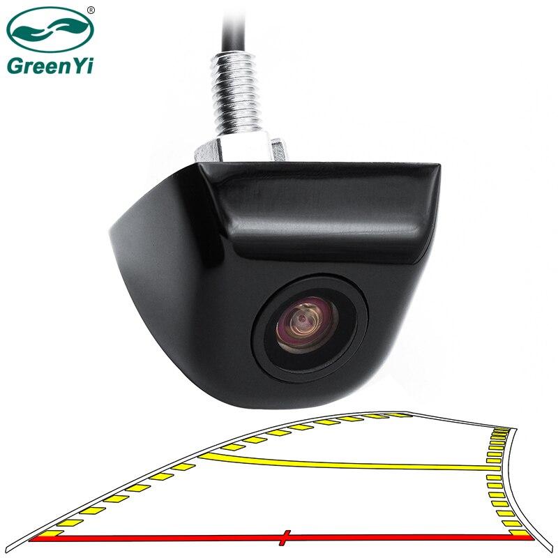 Автомобильная камера заднего вида GreenYi, умная универсальная камера заднего вида с динамической направляющей