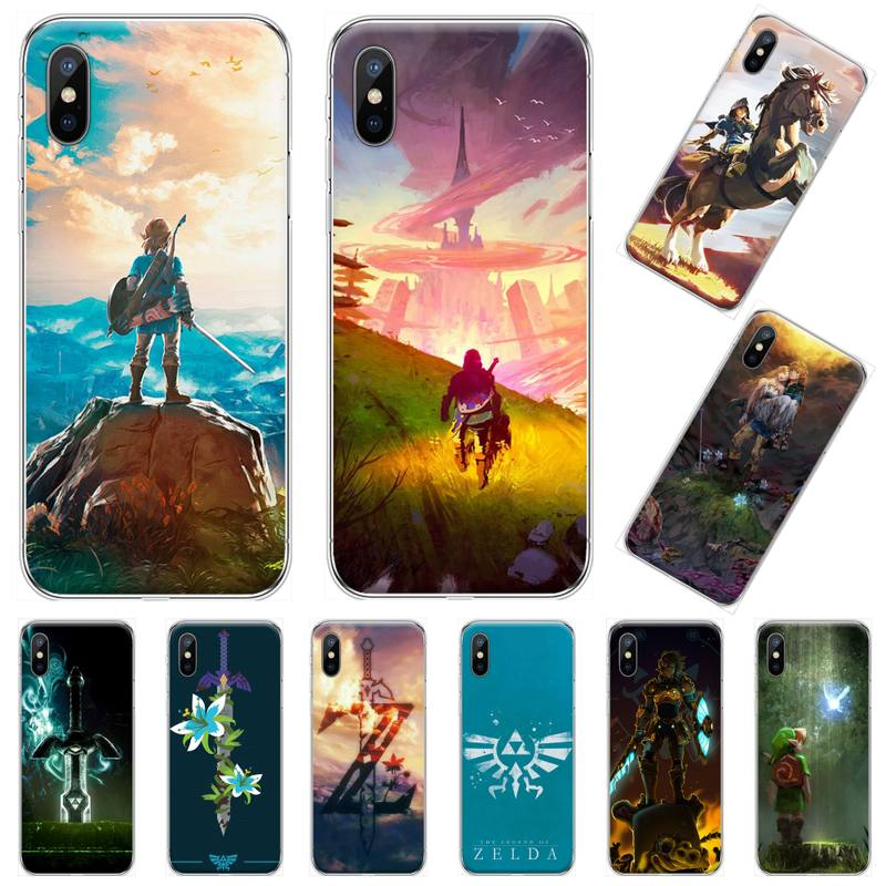 zelda cartoon game Coque Shell Phone Case For iphone 4 4s 5 5s 5c se 6
