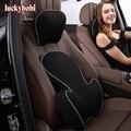 Автомобильная подушка для спины  1 комплект  подголовник  массажная подушка с эффектом памяти  хлопковая Автомобильная подушка  Автомобильн...