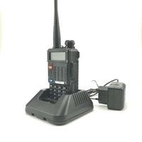מכשיר הקשר 2pcs Baofeng UV-5RT מכשיר הקשר Dual Band UHF VHF רדיו FM תדר רדיו Ham Hf משדר Baofeng טוקי רדיו comunicador (5)