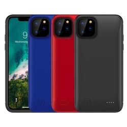 Caso Carregador de bateria Para o iphone 11 Pro Max Bateria Caso Carregador Banco Do Poder De Carregamento Capa Para iPhone 11 Externo Slim back Pack