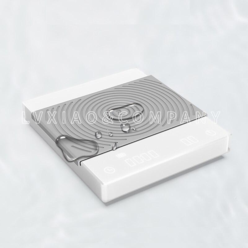 Timemore balance électronique avec minuterie 2 kg/0.1g LCD numérique cuisine café balances outil de pesage balance de bijoux de précision balance USB - 2