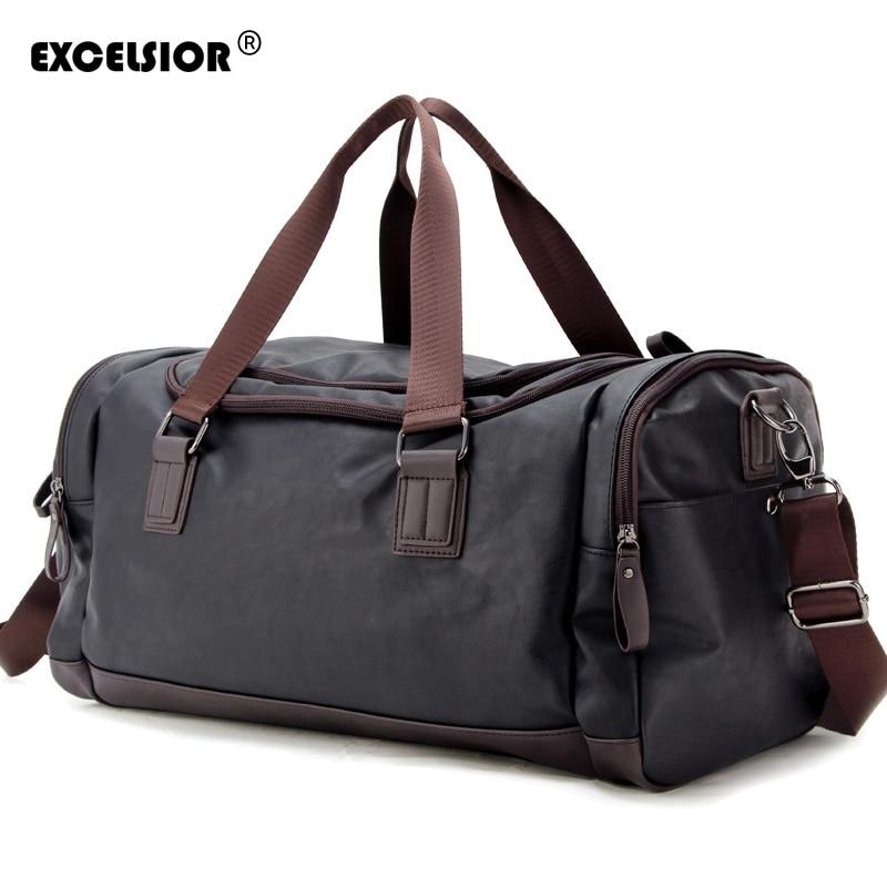 EXCELSIOR 2020 Wholesale Portable Travel Bag Female Large Capacity Crossbody Bag Male Business Handbag Shoulder Fitness Bag