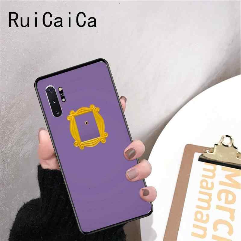 RuiCaiCa Coffee House Friends TV pokazuje, jak robisz klienta wysokiej jakości etui na telefon Do Samsung Note 3 4 5 7 8 9 10 pro M10 Coque