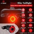 Фсветильник задний велосипедный со светодиодной подсветильник кой, IPX6