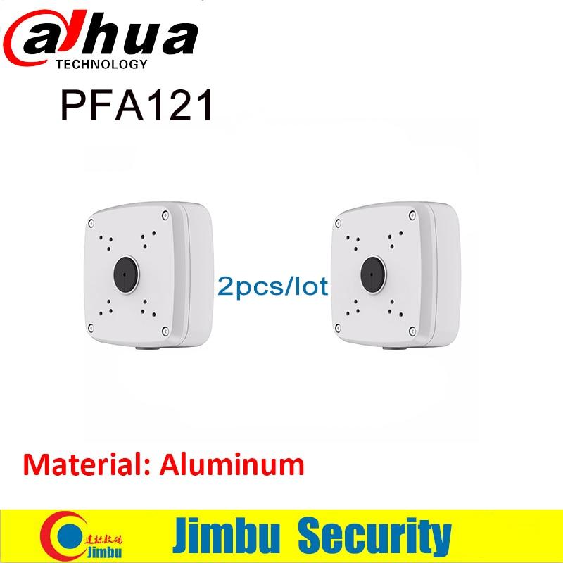 Oroginal DAHUA IP Bullet Camera Brackets Junction Box PFA121  2pcs/lot  CCTV Accessories Camera Mount Aluminum Material
