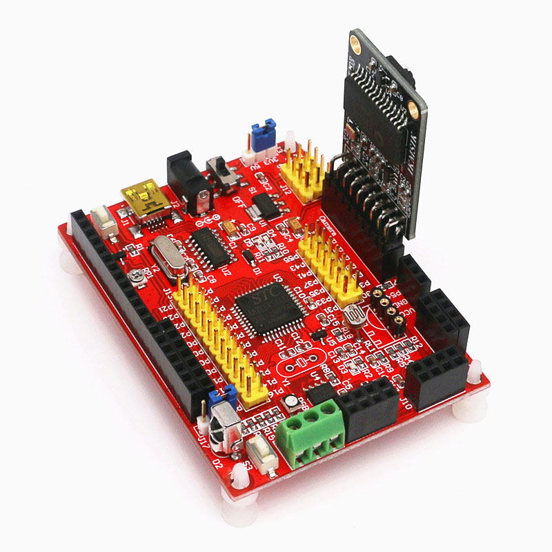 STC8A8K64S4A12 Development Board STC8 OV7670 Single Chip Microcomputer Welding Pin Header