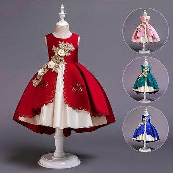Senden corona Mädchen vestido Weihnachten Anna Elsa Cosplay Halloween Sommer Mädchen Prinzessin vestido für Geburtstag fiesta Vestid