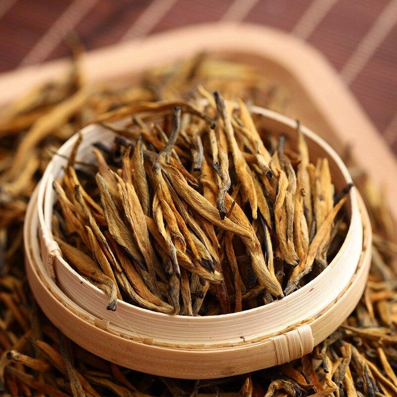 5A 2019 Chinese Yunnan Dian Hong Tea The Premium DianHong Tea Beauty Slimming Diuretic Down Three Green Food Dian Hong Black Tea