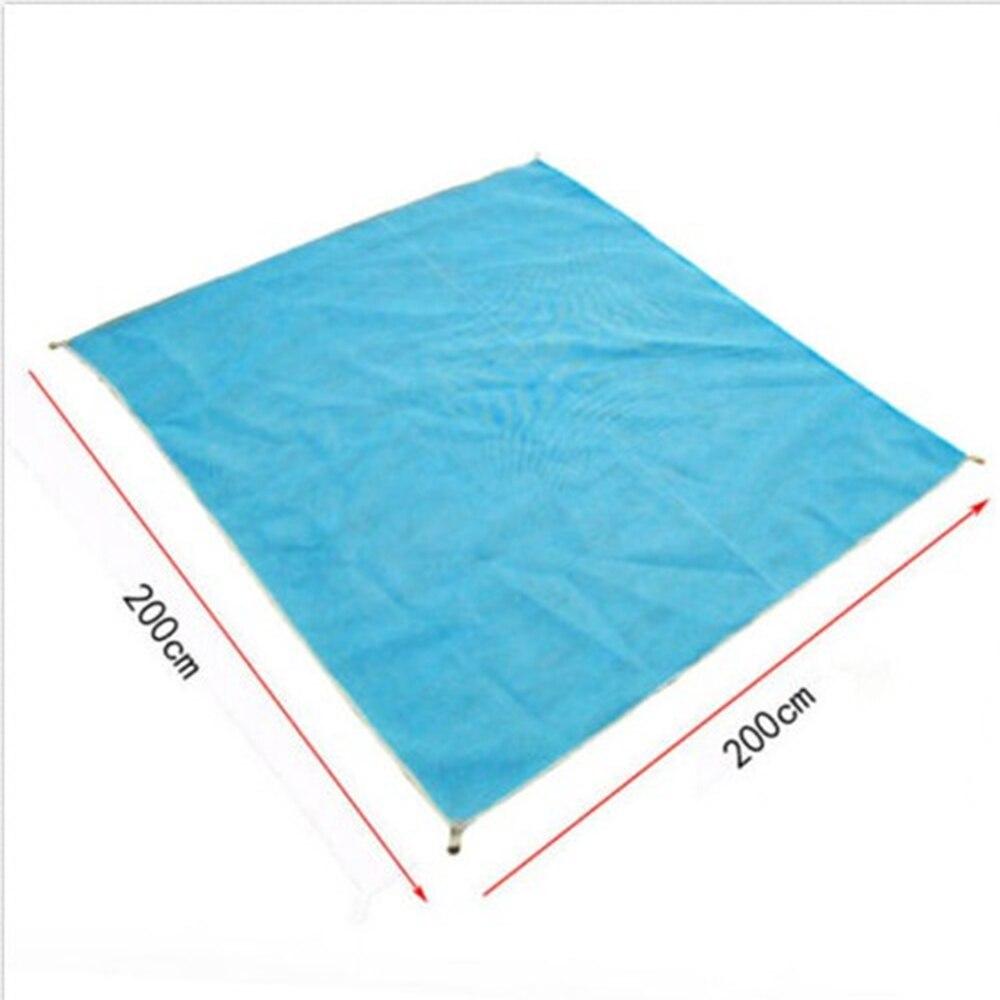 2M Magic Sand Free Beach Mat Camping Outdoor Picnic Large Mattress Waterproof Bag
