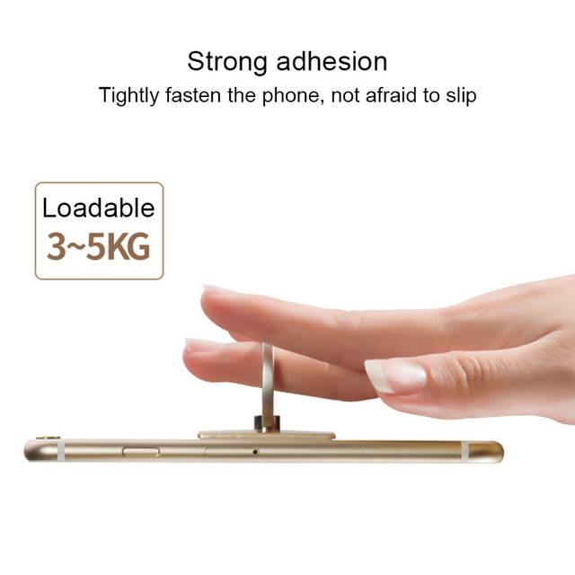 Mobile phone bracket mobile phone ring buckle 360 degree free rotating adhesive mobile phone holder for iPhone XS samsung s10