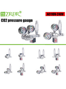 ZRDR Regulator Bubble-Counter Pressure-Reducing-Valve Fish-Tank-Tool Check-Valve Aquarium