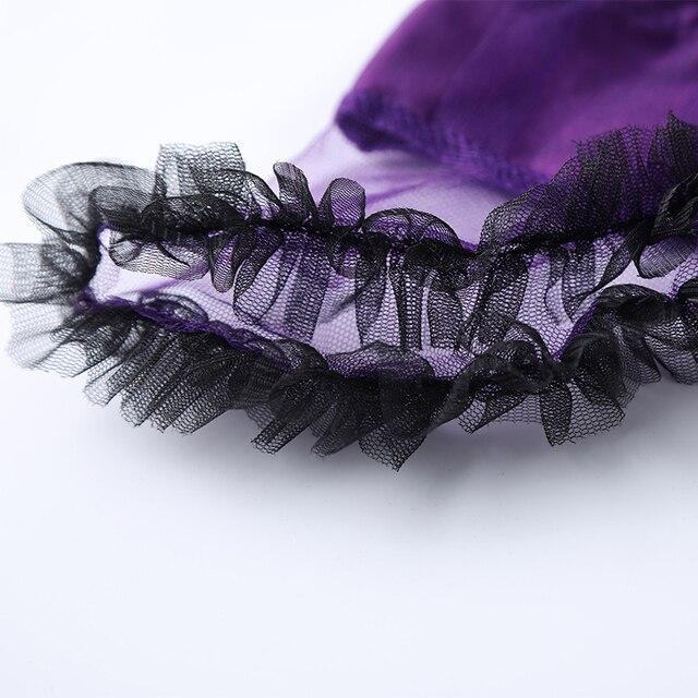 Girls Purple Bat Vampire Princess 4