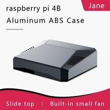 Argon UN Raspberry Pi Caso 4 ELEGANTE CUSTODIA IN ALLUMINIO PASSIVO E di RAFFREDDAMENTO ATTIVO CORRETTA ARRESTO del SISTEMA di
