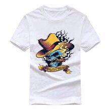 2019 Colored skulls tee cute t shirts  men short sleeves cotton tops cool shirt summer jersey costume Fashion t-shirt