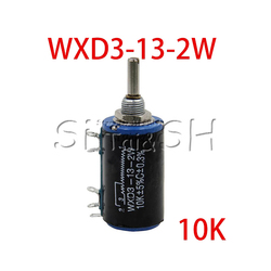 2 шт./лот WXD3-13-2W вал Диаметр 10K Ом Ротари сбоку Multiturn потенциометр Новый