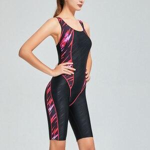 Image 5 - Riseado One Piece Swimsuit 2020 Sport Swimwear Women Racer Back Competitive Swim Wear Boyleg Patchwork Swimming Suits for Women